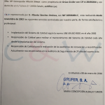 Certificado de Garantía de Servicio de Implantación y mantenimiento de norma de calidad ISO 9001